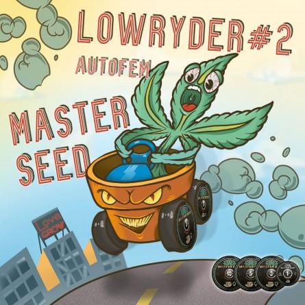 Семечко Auto Lowryder#2 от Master-Seed Испания